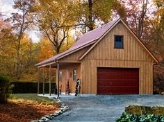 20 x 26 Two Story Board and Batten A-frame | Penn Dutch Structures