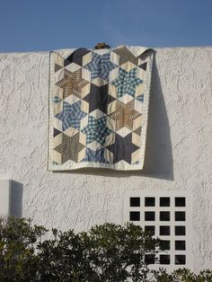Another look at that men's shirts quilt.