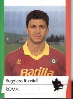 Ruggiero Rizzitelli 1991/1992 As Roma, Polo Shirt, Polo Ralph Lauren, Panini, Baseball Cards, History, Sports, Mens Tops, Trading Cards