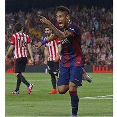 """""""Neymar celebrating ❤️"""""""