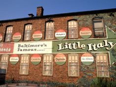 Little Italy, Baltimore, MD....I know the owner and chef of a restaurant in Little Italy..i miss seeing them <3