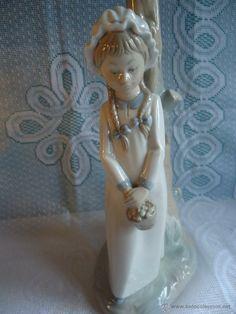 Soporte para lámpara de porcelana Zaphir ( segunda marca de Lladró) en