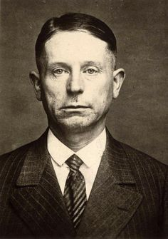 """Peter Kurten """"The Vampire of Dusseldorf"""", serial killer. He confessed to have killed 79 people but he was only charged with A well known sadist, he even asked whether he would be able to hear his own blood gush when he was to be beheaded. Evil Under The Sun, Evil People, Scary People, Famous Serial Killers, Real Horror, Cain And Abel, True Crime Books, Real Monsters, Gangsters"""