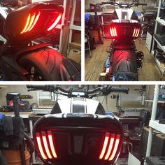 Ducati Diavel Rear Turn Signals