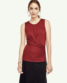 Ann Taylor Ruched Shell #418071