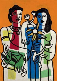 Fernand Leger (1881-1955). He developed a unique style of Cubism and later was considered as forerunner of Pop Art.