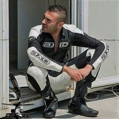 Bike Suit, Motorcycle Suit, Motorcycle Leather, Biker Leather, Leather Men, Biker Gear, Biker Boots, Motorbike Leathers, Riders On The Storm