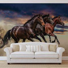 Wallpaper Mural Tricks: How to Choose and Install Horse Wallpaper, Photo Wallpaper, Custom Wallpaper, Wall Wallpaper, Horse Mural, Horse Lamp, Discount Bedroom Furniture, Beautiful Arabian Horses, 3d Wall Murals