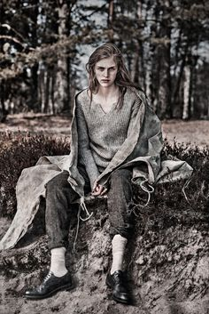 [campaign] hedvig palm by carl bengtsson for nygårds anna campaign | fall 2012