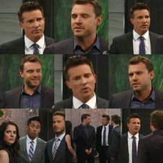 Steve Burton, Kelly Monaco, Soap Stars, General Hospital, Soaps, It Cast, Collage, Printed, Pictures