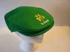 Hanna Hats Ireland Irish Ivy Cap Newsboy Flat Scally Cap Hat Large Mens WomenS | eBay