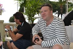 Andreas Dahlqvist, McCann's  deputy chief creative officer of global brands, catches up with colleagues at the Carlton.