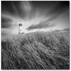 "Trademark Global Moises Levy 'Yaquina Lighthouse Iii' 18"" x 18"" Canvas Print #ad"