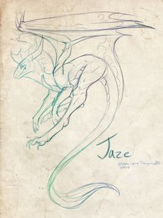 Dragon Sketch - Awesome Design