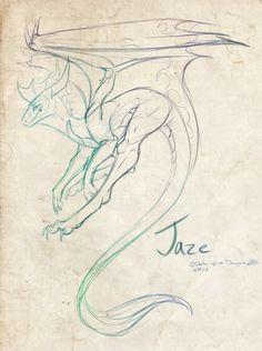 Dragon Sketch - Awesome Design