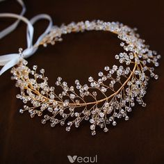 Classy Gold Headpieces Accessories 2019 Metal Crystal Bridal Hair Accessories Classy Gold Headpieces Accessories 2019 Metal Crystal Bridal Hair Accessories - Unique World Of Hairs Wedding Hair Accessories, Jewelry Accessories, Jewelry Design, Jewelry Ideas, Hair Jewelry, Wedding Jewelry, Jewellery, Hair Wedding, Wedding Dresses