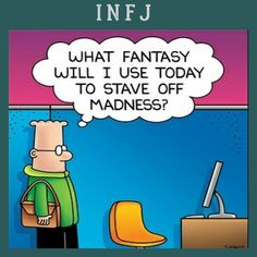 INTJ, so it's more of a plan/fantasy, a plantasy, if you will.