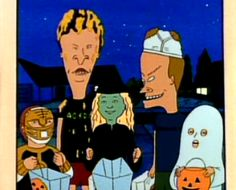 Beavis and Butthead Halloween special