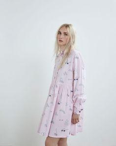 Lazy Oaf Mistakes Long Sleeve Dress - Everything - Categories - Womens