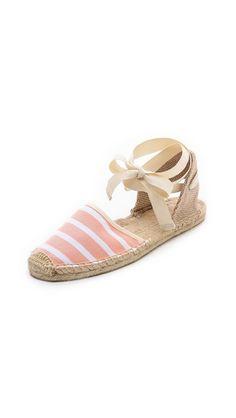 Shop now: Soludos Stripe Sandals