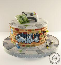 Graffiti Cake  By YellowBeeCakeCompany CakesDecorcom