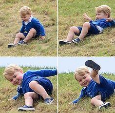 Depois de roubar a cena no último sábado (13), numa das comemorações do aniversário da Rainha Elizabeth II (viram as fotos no nosso Instagram @babies_cz?),