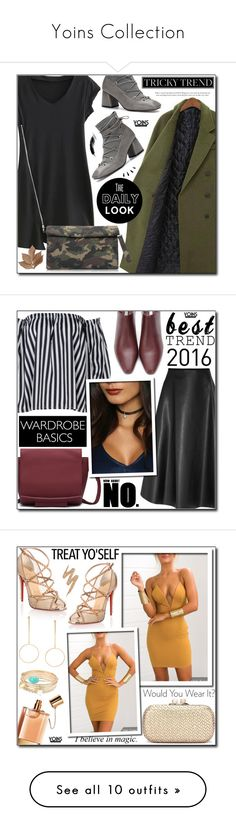 """""""Yoins Collection"""" by adnaaaa ❤ liked on Polyvore featuring yoins, yoinscollection, loveyoins, Bliss Studio, Old Navy, Christian Louboutin, Chloé, Urban Decay, Paige Denim and Nika"""