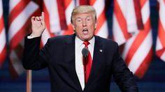 Donald Trump GOP Republican Convention