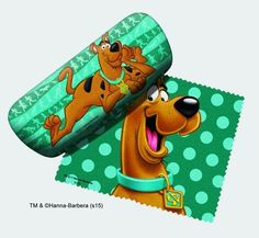Scooby-Doo Eyeglass Case and Cleaner