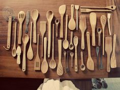 this year for my birthday i've asked everyone to make me a wooden spoon...    this collection from geninne