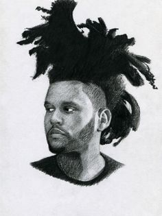 The Weeknd (Drawing by DrDraw