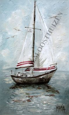 Art Painting by Maria Magdalena Oosthuizen includes Seilboot / Sail Boat, this example of Contemporary Art has inspired this exceptionally talented artist. View other Paintings by Maria Magdalena Oosthuizen in our Online Art Gallery. Boat Fashion, Boat Art, South African Artists, Used Boats, Affordable Art, Online Art Gallery, All Art, Sailing Ships, Lighthouse