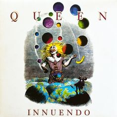 Queen - Innuendo (Vinyl, LP, Album) 1991