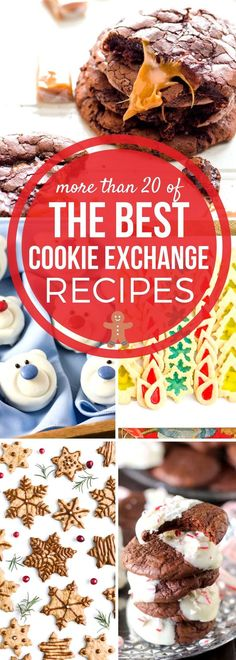 This collection of our BEST Cookie Exchange Recipes has all the cookie recipes you need this season! Perfect for parties & holiday gifting! Perfect for Christmas parties, Christmas gifts, & dessert tables too! #SundaySupper #CookieExchange #HolidayRecipes #CookieRecipes via @thesundaysupper