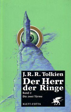 """""""Die großen Türflügel schlugen zu. Bums! Innen fielen eiserne Riegel ins Schloss. Schnapp! Die Tür war zu. Sam warf sich gegen die Metallplatten und sank besinnungslos zu Boden. Er lag draußen in der Dunkelheit. Frodo war am Leben, aber vom Feind gefangen. Hier endet der zweite Teil der Geschichte des Ringkrieges."""" (Seite 441).....  J.R.R. Tolkien: Der Herr der Ringe - Band 2 - Die zwei Türme"""