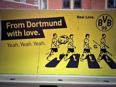 Borussia Dortmund (BVB) on Abbey Road (Twitter)