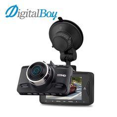 72.10$  Buy here - http://ali6sr.worldwells.pw/go.php?t=32787686664 - Digitalboy Car Dvr 1296P Super HD Car Camera Auto Video Recorder Camcorder Ambarella A7 Chip 170 Degree with GPS Logger Dash Cam