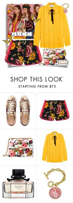 """""""Presenting the Gucci Garden Exclusive Collection: Contest Entry"""" by glamlicious ❤ liked on Polyvore featuring Gucci and gucci"""
