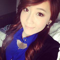 bubzbeauty - blue shirt & black blazer