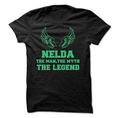 NELDA - The Man The Myth The Legend - #boyfriend gift #gift for dad. PRICE CUT => https://www.sunfrog.com/Names/NELDA--The-Man-The-Myth-The-Legend.html?68278