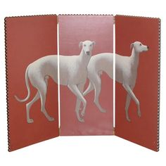 1stdibs - GREYHOUND FIREPLACE SCREEN BY LYNN CURLEE explore items from 1,700  global dealers at 1stdibs.com