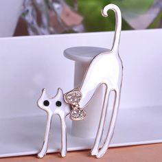 Kawaii Jet Lazy Cat Brooch Wild Style Only $10.89 => Save up to 60% and Free Shipping => Order Now! #Ring #Jewelry #woman #fashion