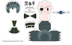 Kuroshitsuji Ciel Papercraft by *tsunyandere on deviantART