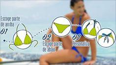 #Bikini personalizable NAHIA. Cambia tu look con detalles preciosos. http://www.decathlon.es/C-1049931-coleccion-bikini-nahia-personalizable?banners=banners:landing-page--bikini-nahia=banners_source=Social+_medium=pinterest_campaign=Bikinis+Nahia