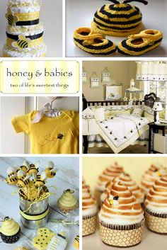 Bumble Bee Baby Shower Inspiration