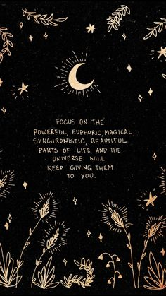 Sending positive vibes out into the universe ✨ Motivacional Quotes, Words Quotes, Sayings, Spirit Quotes, The Words, Pretty Words, Beautiful Words, Positive Vibes, Positive Quotes