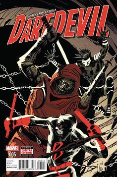 SUPERHÉROES DEL FUTURO PASADO: PREVIEW: DAREDEVIL #5