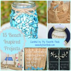 15 Beach Inspired Projects from a LooksiSquare.com Curated Collection | My Favorite Finds