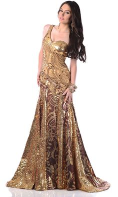 Gold!! This would be an awesome USMC ball dress!