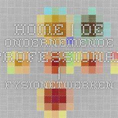 Home   De ondernemende professional   FysioNetwerken